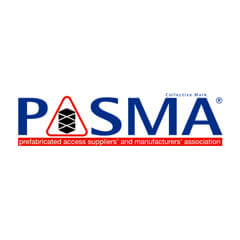 Pasma Prefabricated access suppliers & manufacturers association logo